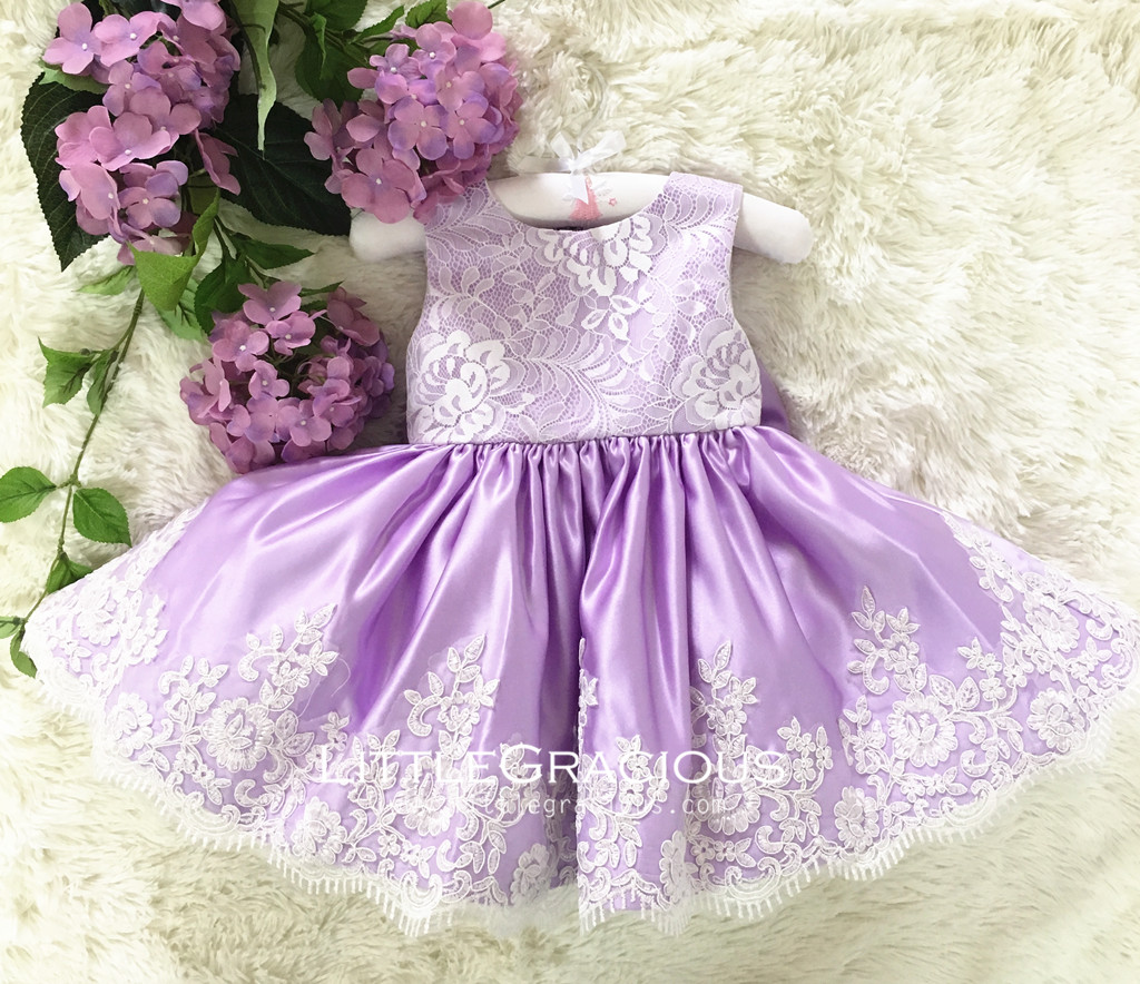 Real Picture Handmade baby Purple Toddler Easter