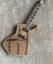 Заказ Новое поступление зеркало трещины Пол Стэнли электрогитары 6 Строки Китай одежда высшего качества чужой гитары электрогитара музыкальный инструмент