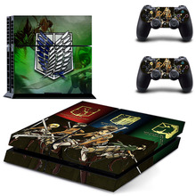 Attack on Titan Skin Sticker Decal Vinyl For Sony PS4