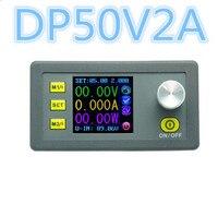 DP50V2A Digital Constant Voltage Current Step Down Programmable Power Supply Module Buck Regulator Converter Color LCD