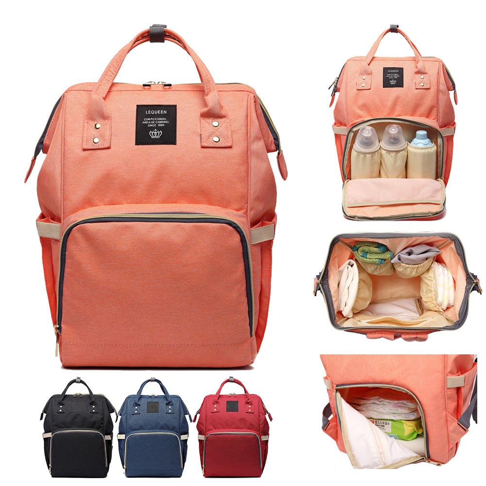 Mummy Maternity Nursing Diaper Bag Care Baby Stroller Carriage Waterproof Bag Care Organizer Backpack Travel Handbag Luiertassen