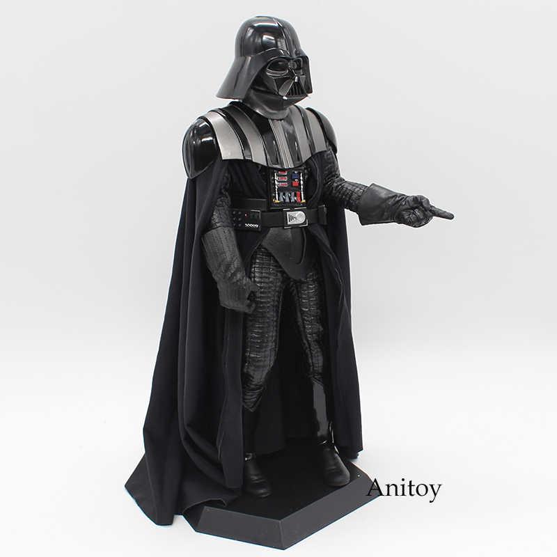 Сумасшедшие игрушки Звездные войны Дарт Вейдер 1/6 й Масштаб ПВХ фигурка Коллекционная модель игрушки 30 см KT4004