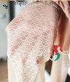 1 шт. перепродать япония женщины идеальный прозрачный сексуальный игристое рыбий хвост русалки печать колготки колготки