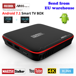 Mecool M8S PRO W Smart Android TV Box Android 7.1 2.4G Wifi 4K 2GB 16GB Amlogic S905W CPU Set-Top Box