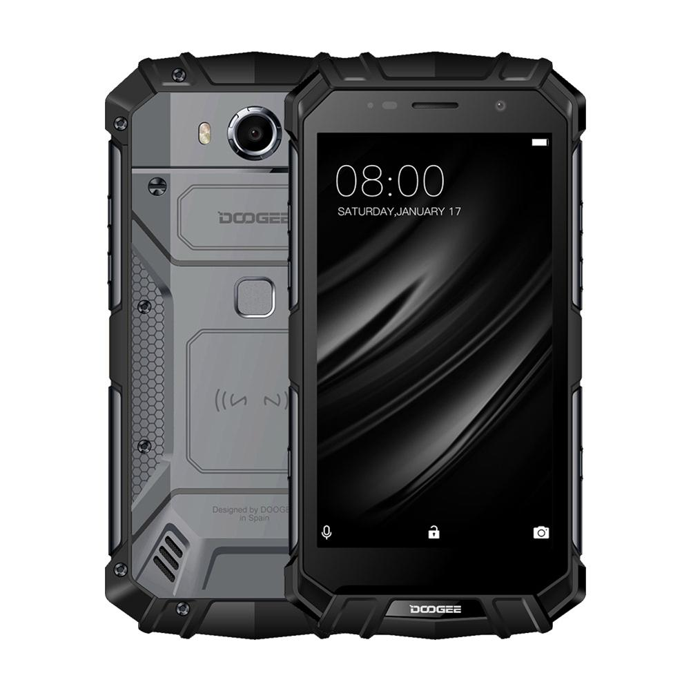 Réel IP68 DOOGEE S60 Sans Fil Charge 5580 mah 12V2A Charge Rapide 5.2 ''FHD Helio P25 Octa Core 6 gb 64 gb Smartphone 21.0MP Caméra