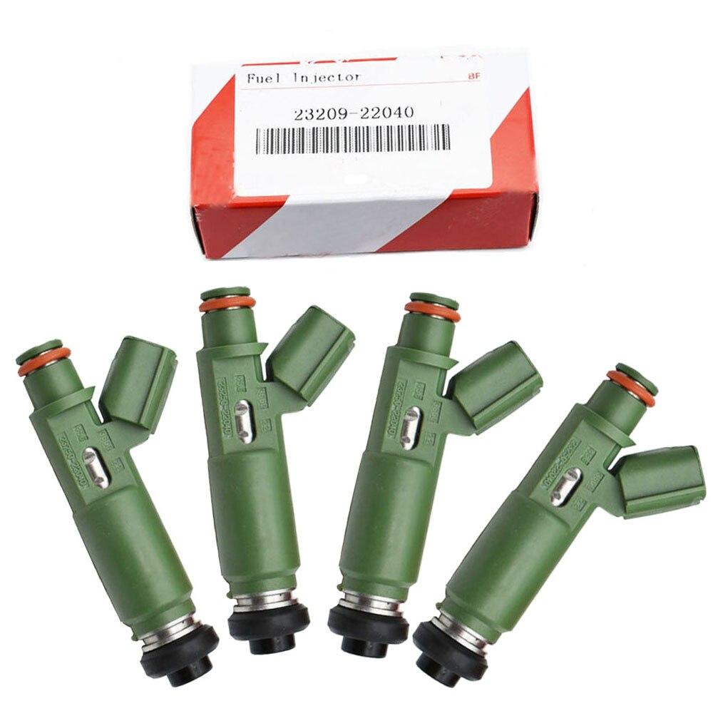 NUOVO ORIGINALE Set (4) iniettori di carburante Ugello per Toyota Corolla Celica Matrix 23250-22040 23209-22040 23250-0D040 23209-0D040
