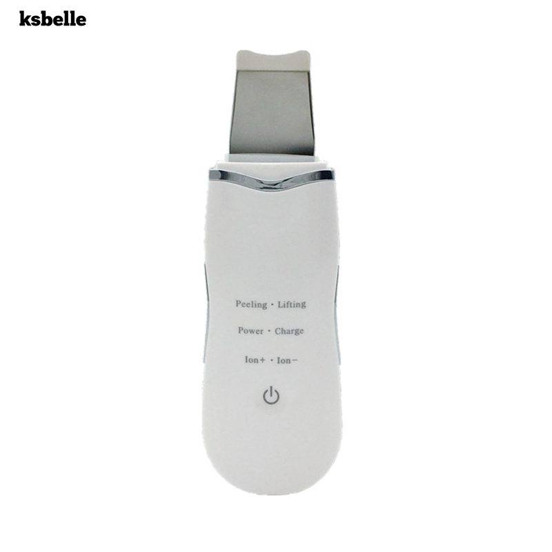 Ultrasonic Deep Face Cleaning Machine Skin Scrubber Remove Blackhead Reduce Wrinkles And Spots Facial Whitening Lifting Machine