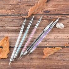 High Quality 1Pc Nail Art Rhinestones Gems Beads Sequins Pick Up Dotting Self-adhesive Wax Pencil Picker Pen