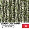 FS011 Matte Realtree Camo Vinyl Wrap Real Tree Leaf Camouflage Mossy Oak Car Wrap Film Foil