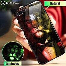 TOMKAS Cam Huawei P10 P20 Lite Mate 20 10 Lite P Akıllı silikon kılıf Için Onur 8X9 lite 10 Oyun Telefonu Kılıfları NOVA 3