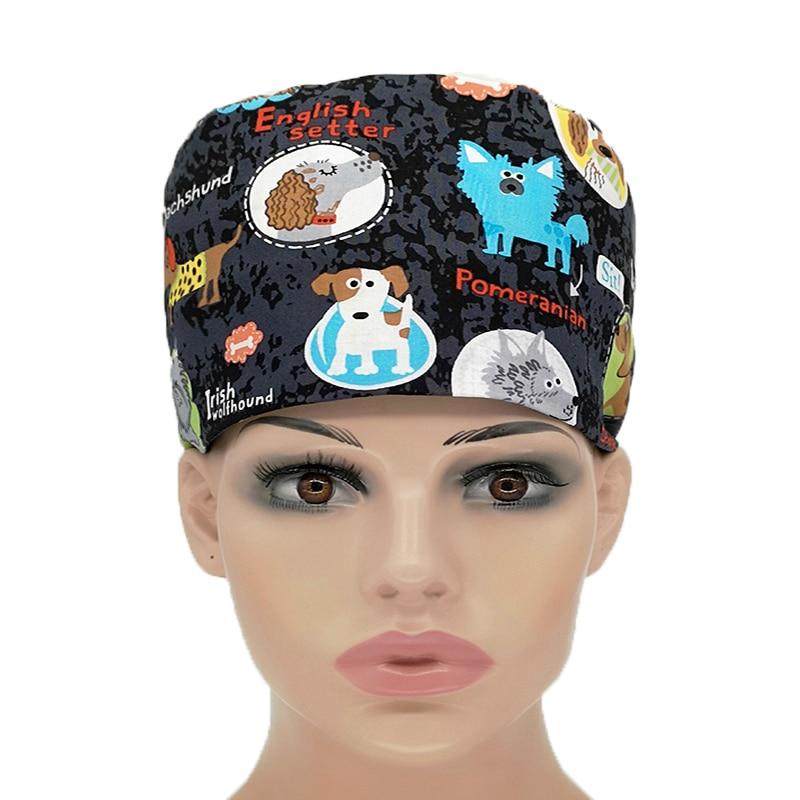 Veterinary Medical Cap Surgical Cap For Women And Men Operating Room Hat Doctors Nurses Surgery Caps/hat