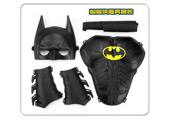 Children's batman suit children entertainment whimsy toys