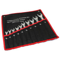 New Combo Wrench Set 10 Pieces Open And Box End Metric Mm 10 11 12 13
