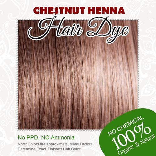 Aliexpress.com : Buy Chestnut Henna Hair Dye 100% Organic and ...
