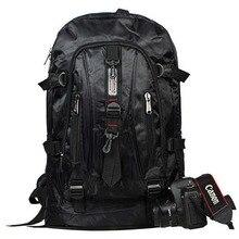 Fashion Men Backpack Waterproof Nylon Travel Rucksack Large Backpacks Black School Bags Teenage Boys Students Bag mochila XA279H