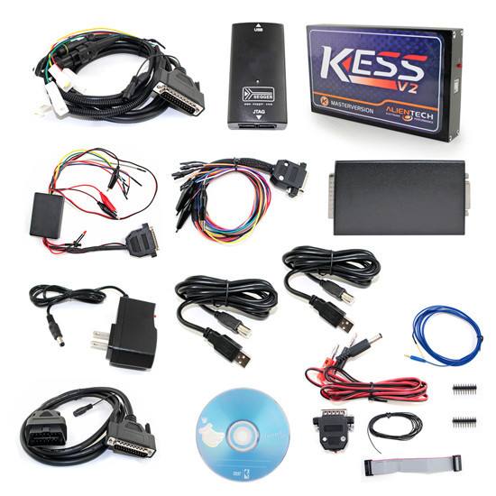 DHL FREE Newest V2.35 V3.099 KESS V2 OBD2 Manager Tuning Kit Master Version with No Token Limitation 2016 newest ktag v2 11 k tag ecu programming tool master version v2 11ktag k tag ecu chip tunning dhl free shipping