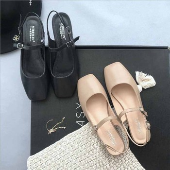 Black Mary Jane Flats | Fashion Flat Shoes Women Spring Autumn New Pointed Toe Sexy Vintage Black Casual Shoes Slip On Pu Leather Female Shoes