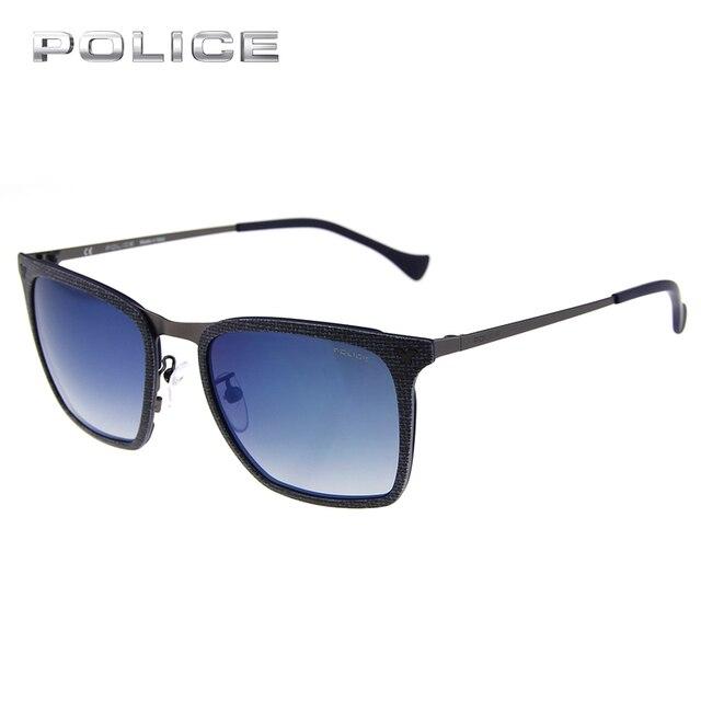 0ebf9eceac2b1d POLICE Polaroid Lentilles Polarisées UV400 Carré TR Cadre lunettes de Soleil  Marque Designer De Mode Pilote