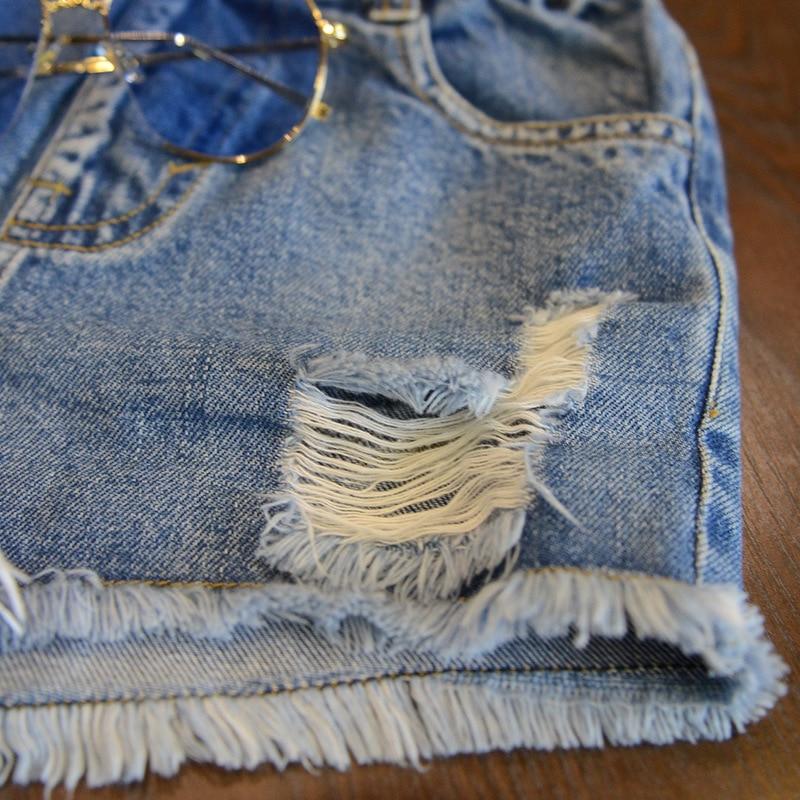 Джинсовые шорты для девочек летние хлопковые и мальчиков одежда