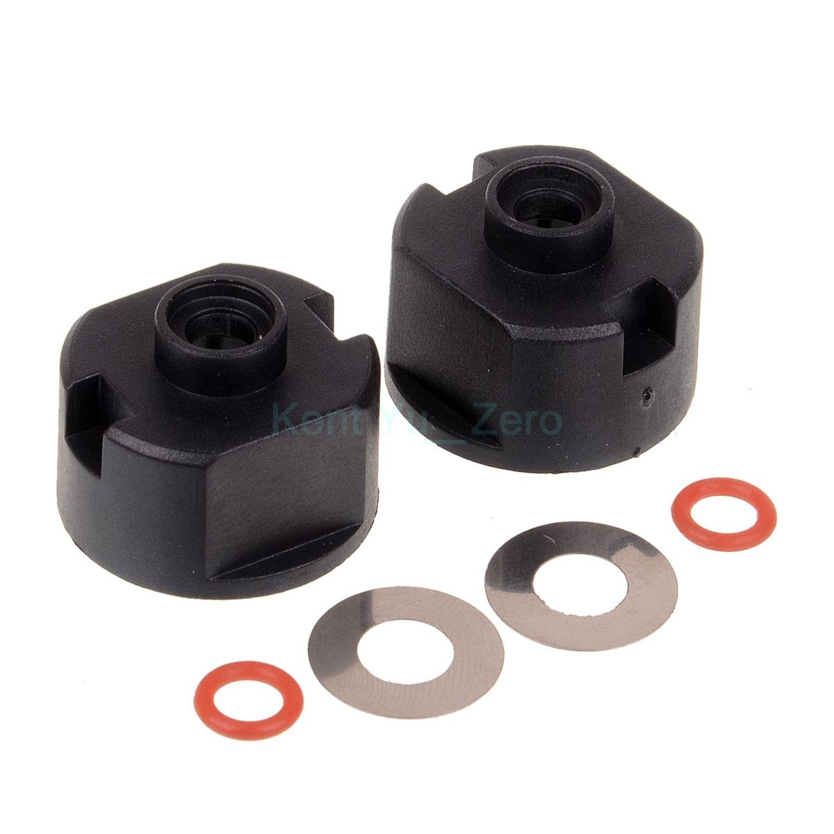 HSP Racing 02039 RC Car 1/10 Diff. Kasing Case (w / two ring & steel washer)