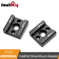 Smallrig Cold Shoe Mount Adapter With 1 4 Screws To Mount LED Light Monitor Handle Microphone