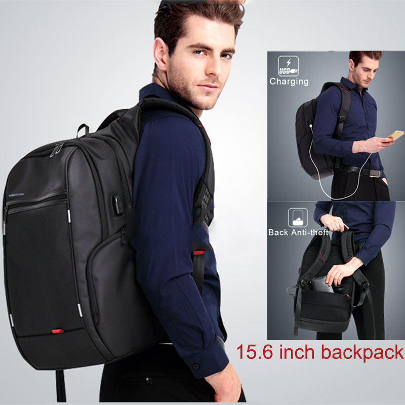 Kingsons Ks3140 Men Women Laptop Backpack With Usb Charge Multi-function Waterproof Business Leisure Travel School Bag Backpack #3