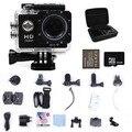 1080 P HD 12MP Câmera Esporte Wi-fi Ir Mergulho 30 M Pro Ação câmera de Esportes DV Filmadoras + Grande Saco Da Câmera + bateria Extra + 32G cartão