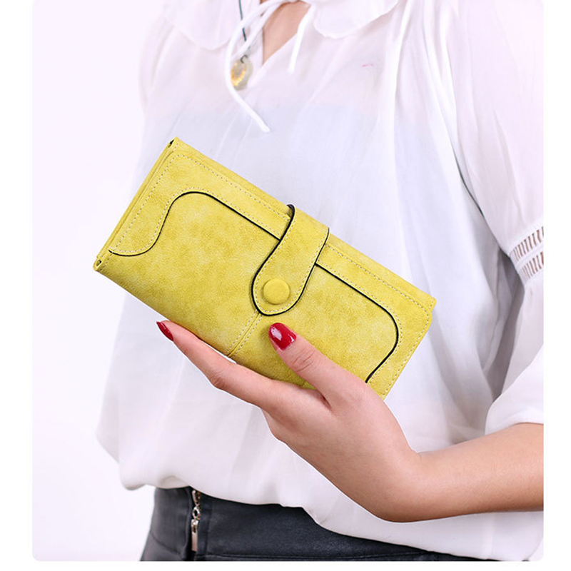 2018 Retro Long Women Wallet Designer women's purse Handbag Best Phone Wallet Female Case Phone Pocket Girl Portefeuille Femme 2018 retro women long wallet purse luxury designer coin purse card holders female handbag wallet for girl portefeuille femme