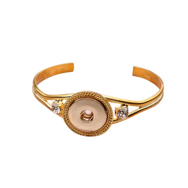 Hot seller High Interchangeable snap jewelry for ginger snaps bracelet in charm bangel fit 18-20mm snaps buttons SMB18-45