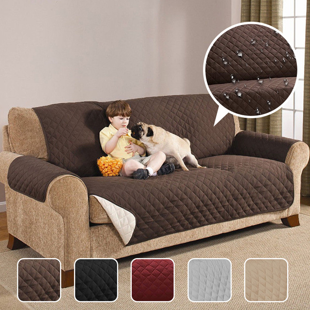 Sofa With Recliners Slipcover Hickory Chair Sofas Waterproof Quilted Couch Covers For Dogs Pets Kids Anti Slip Recliner Slipcovers Armchair Furniture Protector 1 2 3 Seater