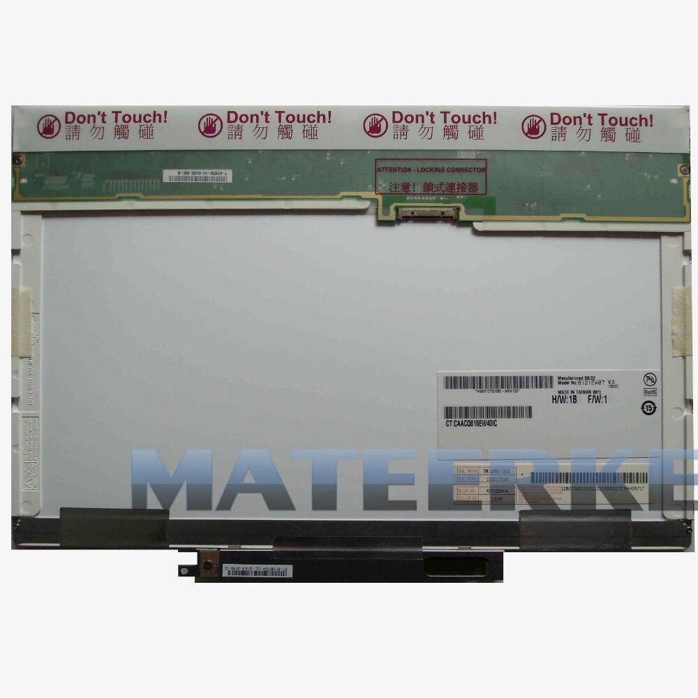 Perfect 12.1&#8243; <font><b>LED</b></font> LCD Screen Fit B121EW07 V.0 LTN121W3-L01 LTD121EW7V N121iB-L01 Display