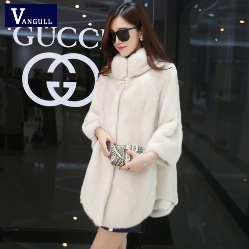 Winter Women Coat The New 2016 Mid-long  Fashion Natural Fur Coat Fox Coat Ms Luxurious Cloak Female Fur Coat Outwear 2017 winter new clothes to overcome the coat of women in the long reed rabbit hair fur fur coat fox raccoon fur collar