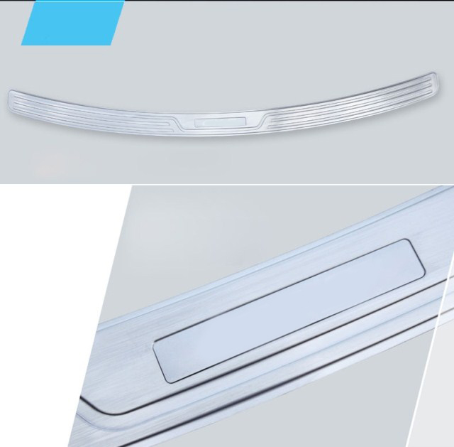Car Rear Bumper Sill Protector Diffuser Spoiler Plate Trims For mazda CX 5 CX5 2012 2013 2013 2014 2015 in Bumpers from Automobiles Motorcycles