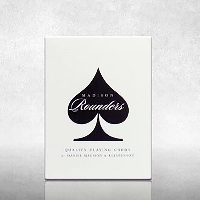 Rounders Playing Cards Magic Tricks Magic Props White Or Black