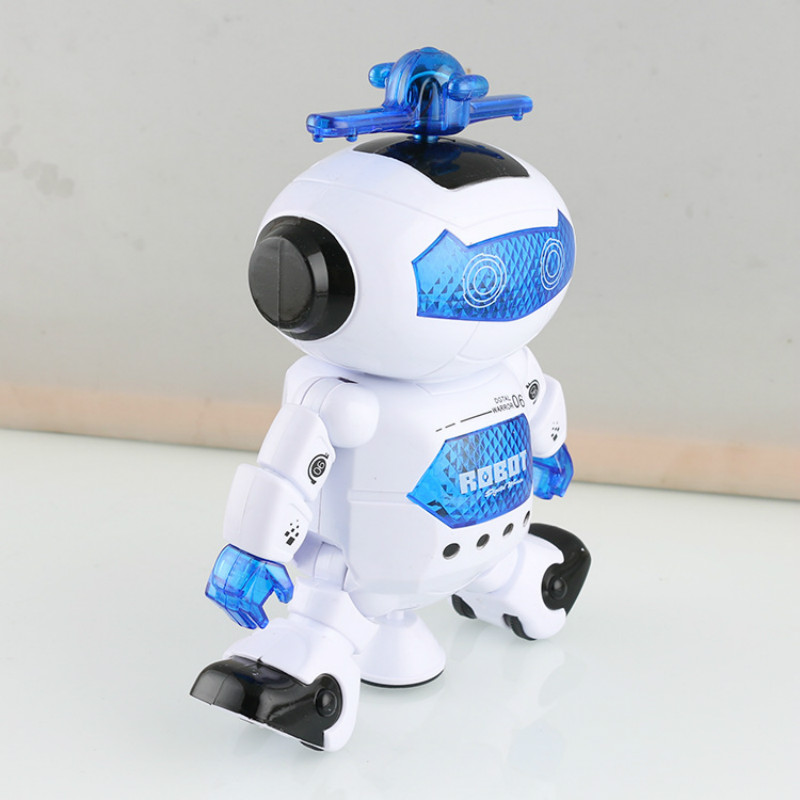 Provided Dance Robot Rotate 360 Degrees Electric Robot Appease Toy Swinging Robot With Light Music Doll For Kids Toys Toys & Hobbies