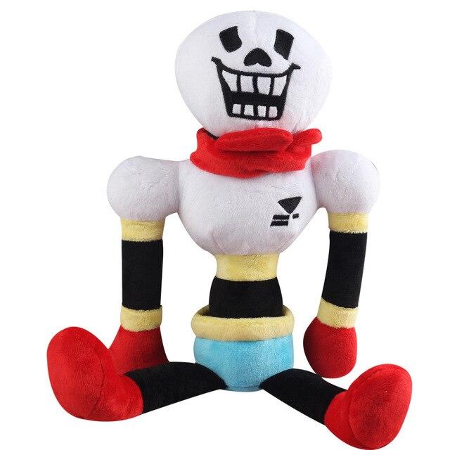 1 pcs 30 cm Undertale Sans Papiro Recheado Boneca Brinquedos de Pelúcia Kawaii papiro de Brinquedo de Pelúcia Macia Dos Desenhos Animados do Anime Brinquedos Presentes para Crianças crianças