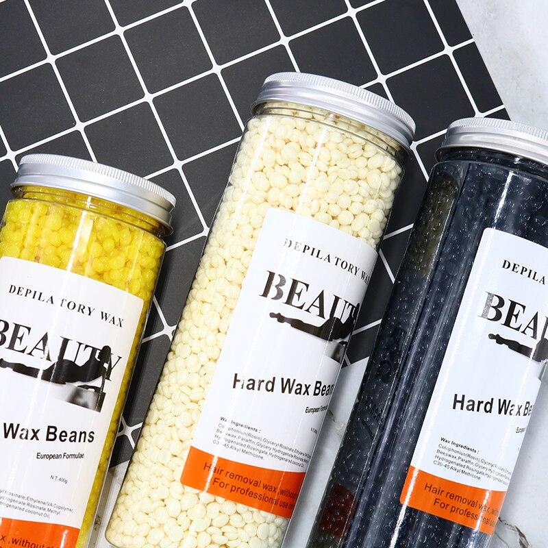 MEIERLI Tank Depilatory Wax Beans Waxing Beauty Salon Depilatory Wax Heater Hair Removal 400g Wax Beans Body Bikini Hair Removal
