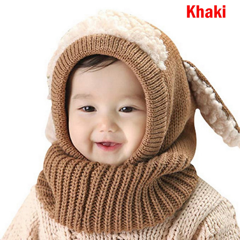 Apparel Accessories Trustful Calofe Winter Kid Colors Hats Girls Boys Children Crochet Warm Caps Scarf Set Baby Girls Bonnet Enfant Cartton Cute Hat Girl's Hats