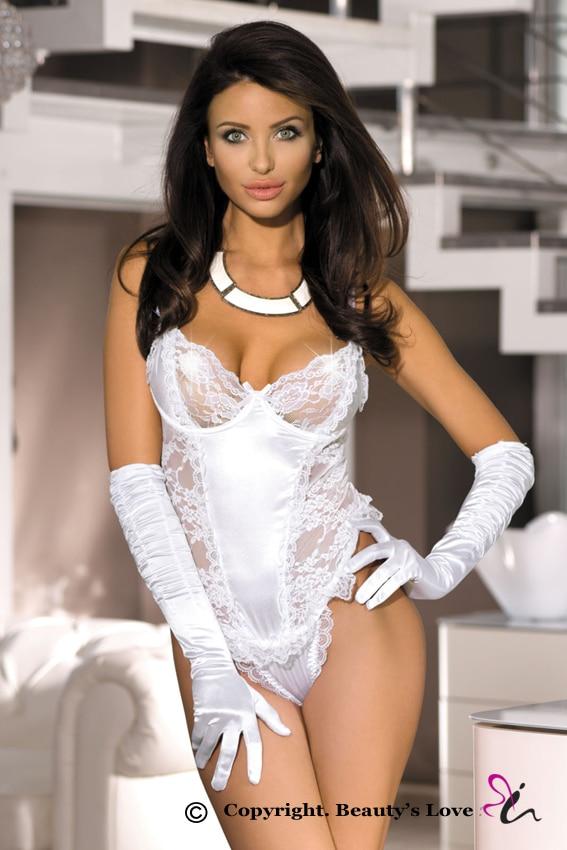 Beautys Love Wedding Corset White Floral Lace Corset