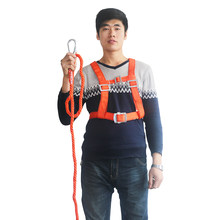Safety Belt Single hook Safety Harness 3 Meters long rope For Labor Working Construction Worker Protective equipment(China)
