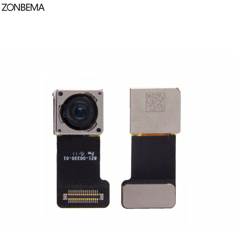 ZONBEMA 5pcs lot 100 TEST WORKING Back Rear Camera With Flash Module Sensor Flex Cable For