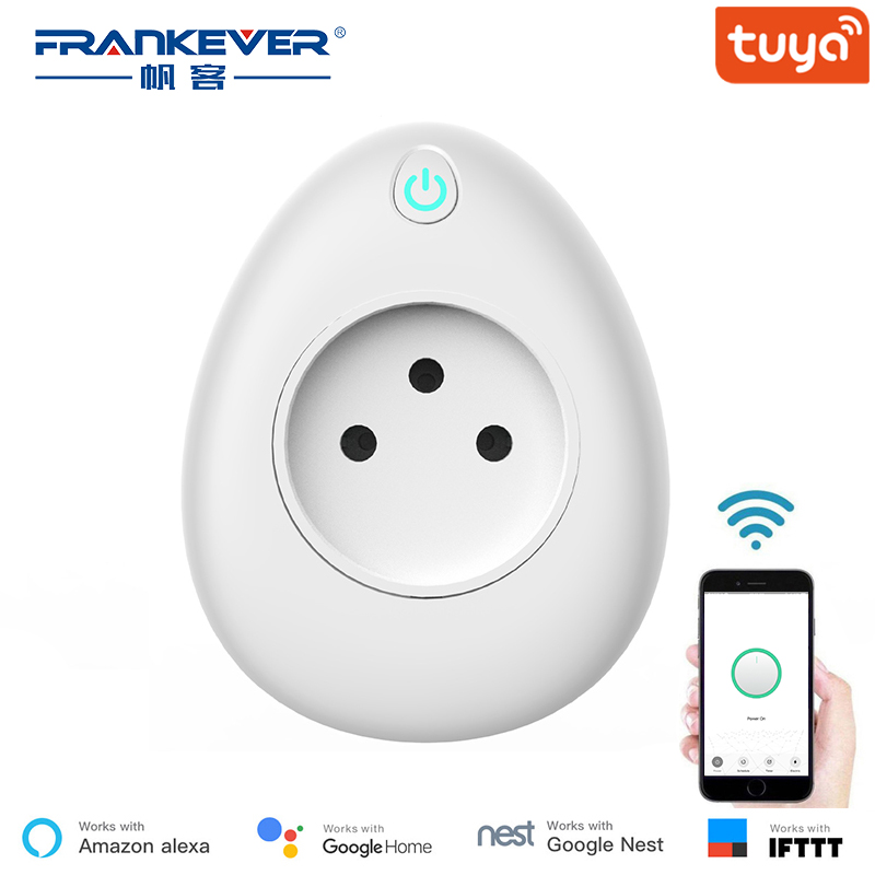 [In Stock 83PCS] FrankEver Israel Smart Wifi Plug 16A with Power Monitoring Work with Alexa Tuya APP[In Stock 83PCS] FrankEver Israel Smart Wifi Plug 16A with Power Monitoring Work with Alexa Tuya APP