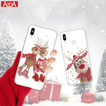 Christmas Cover Santa Wapiti TPU for Huawei P8 P9 P10 P20 Pro Lite 2017 Mini P Smart Nexus 6p coque For Huawei Mate 10 Lite Case(China)