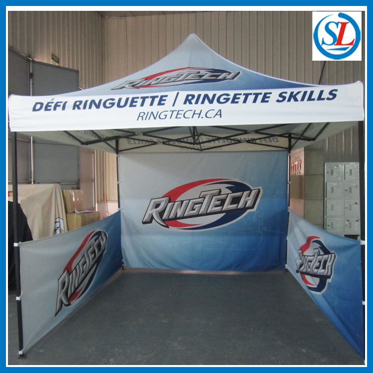 10x10 Canopy Tent /Trade Show Canopy/Outdoor Canopy banner-in Flags ...