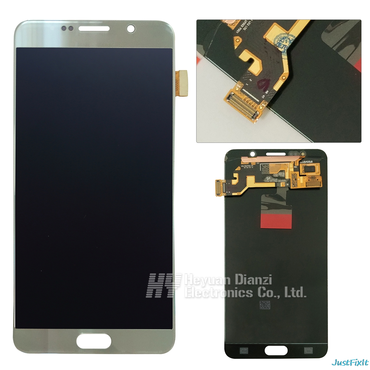 For Samsung Galaxy Note 5 N920 N920F N920A N920T N920C N920V N920W8 Burn-in shadow LCD Display Touch Screen Digitizer Assembly