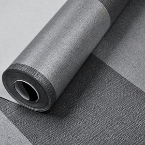Image 5 - Verticaal Gestreept Behang Home Decor Voor Woonkamer Slaapkamer Wandbekleding Metallic Zwart Zilver Moderne Luxe Muur Papier