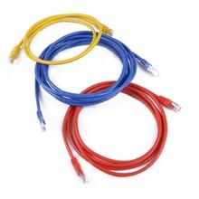 Super cinq câble non blindé CAT5E sans oxygène cuivre GB paire torsadée câble fini YXJ117