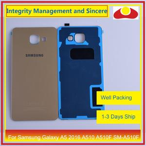 Image 5 - Original For Samsung Galaxy A5 2016 A510 A510F SM A510F Housing Battery Door Rear Back Cover Case Chassis Shell