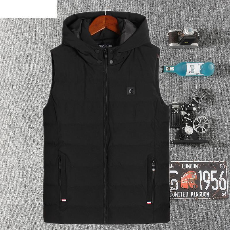 UNCO BOROR Winter Jacket Men Warm Washed cotton Coat outwear fashion fleece parka male Elegant Business