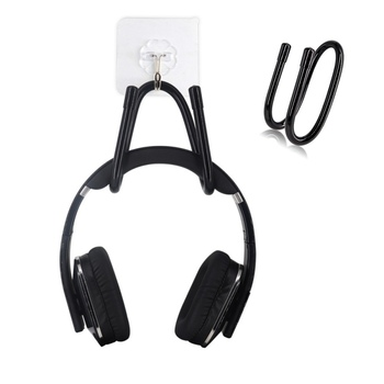 Universal 2 in 1 Game Controller Hanger Hook Up For Nintendo Switch / PS4 / Xbox / Headband Headphones Space-saving Design